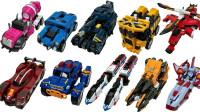 韩国变形金刚Tobot托宝机器人变形机甲VS迷你特工队变形玩具