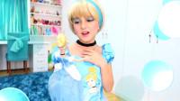 国外时尚美妆:女孩美妆打扮的灰姑娘妆容,你们觉得怎么样
