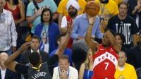 NBA 18/19赛季 季后赛总决赛第6回合 金州勇士VS多伦多猛龙 提前预定本场最佳?洛瑞开场3投3中带领猛龙一波8-0