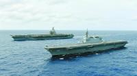 """美日""""双航母""""被曝在南海搞军演 专家:日本借机学习航母经验"""