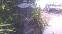 小伙用水泥自制仿古园林装饰灯,有这技术可以当古装剧道具师了!