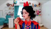 国外时尚美妆:小女孩美妆打扮的白雪公主妆容,你们觉得怎么样
