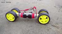 科技奇玩DIY制作迷你沙地越野电动小汽车