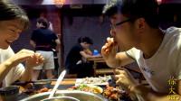 西瓜免费吃,龙虾不要钱,大sao吃火锅,点一堆羊肉,太过瘾了