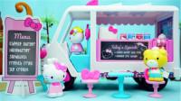 凯蒂猫Hello Kitty外出野餐车亲子玩具