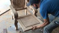 卖几百块一张的实木椅子,就是这样加工出来的,你觉得贵吗?