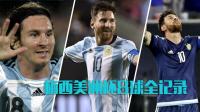 梅西美洲杯8球全记录:彩虹吊射一鸣惊人 2度亮出圆月弯刀