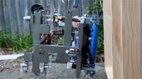 19岁小伙发明擦窗机器人,带8个旋翼飞着擦,获一等奖50万奖金
