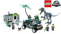 乐高2019新款侏罗纪世界恐龙系列75935重爪龙之战 寻宝探险积木