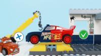 定格动画-乐高城市故事之正确组装赛车总动员玩具车游戏