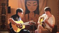 【郝浩涵梦工厂】Jazz Time,Guitar player:Ben & 郝浩涵