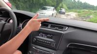 农村美女学开车,先憋住别笑,女侠:只要路上没有车,我都可以开
