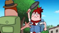 搞笑吃鸡动画:霸哥屡次伤害萌妹引公愤!殊不知霸哥是哑巴吃黄连有苦说不出