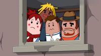 搞笑吃鸡动画:主角团非法组队引起战乱!神级BUG大魔王吃鸡全靠躺