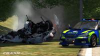 BeamNG Drive车祸模拟:警车追捕第37名逃犯