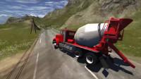 BeamNG Drive车祸模拟:汽车翻车事故