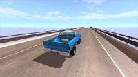 Beamng Drive车祸模拟:汽车下坡