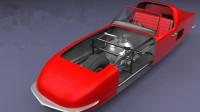 世上最奇特两轮汽车,是怎么做到不翻车的?看3D动画演示全明白!