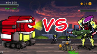 火柴人英雄战争 金刚狼vs未来科技机器人