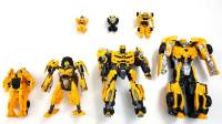 7款变形金刚大黄蜂电影和G1动漫中的大黄蜂机器人变形玩具