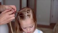 每天早上花一些时间为女儿编这款好看的发型
