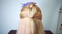 比较适合长发编发发型,好看又有气质,编发还比较简单