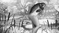 史上最硬核美人鱼,上半身是鱼下半身是人,男人都为它着迷