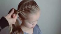如何给女儿编一款好看又可爱的发型