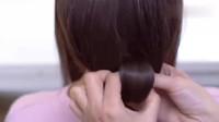 编发教学,教你编一款时尚优雅的盘发发型