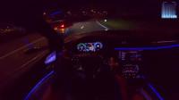 夜晚试驾19款最美奥迪SUV,亮起夜视系统的瞬间,不再考虑宝马X5