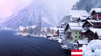 这个小镇冬天的时候一定要去,简直是在童话故事里