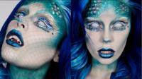 当女子将自己化妆打扮成美人鱼,你觉得她成功了吗?
