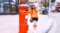 板娘小薇Vlog03:魔都网红小姐姐打卡地,我在这里寄出爱的明星片