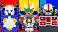 机器战士六玩具改造变形金刚