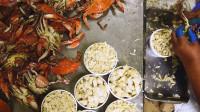 韩国厨师嘲笑中国大厨,再给你30分钟也不可能剥60只螃蟹,大厨霸气回应!