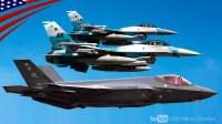 美国空军正式成立一支由F-35A闪电II第五代隐身战斗机组成的假想敌中队-内利斯空军基地的第65侵略者中队F-35A在作战训练中扮演俄罗斯Su-57战斗机