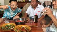 """40多买的牛肉,阿远做个""""黑椒牛柳"""",再炒个四川腊肉吃,得劲儿"""