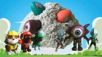 汪汪队发现神奇玩具蛋 变形蛋 奥特曼战士你更喜欢哪个?