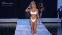 欧美比基尼走秀,美女模特身材一级棒