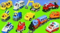 超炫酷!左左龙姐姐分享的车车你最喜欢哪辆呢?趣味玩具故事