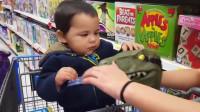 爸爸好讨厌,用玩具吓唬宝宝,网友:好玩,哪里有卖
