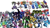 21款变形金刚动漫版汽车人霸天虎机器人变形玩具 变形过程展示
