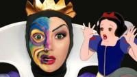 国外时尚美妆,美女迪士尼公主仿妆,超逼真!你喜欢吗?