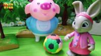 比得兔玩具故事:比得兔认识了莉莉的好朋友海草猪!