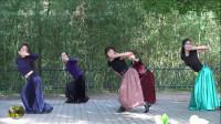 紫竹院广场舞《情歌》,很有味道的一支舞!