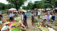 缅甸女人怎么摆摊做生意?中国小哥在缅甸旅游,拍了段视频!