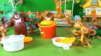 熊大熊二毛毛吉吉和蹦蹦一起去野餐 62