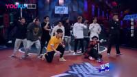 这就是街舞:冯正对高博,斗舞最后还不忘来段齐舞,友谊第一比赛第二