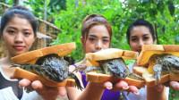 """泰国最残忍的美食""""青蛙汉堡"""",无数人下不了口,泰国人却顿顿离不了!"""