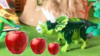 迅猛龙帮助三角龙看护苹果园 42